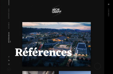 Références | Archi GraphiのWebデザイン