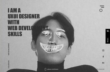 Eum RayのWebデザイン