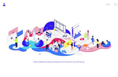 AnimatのWebデザイン