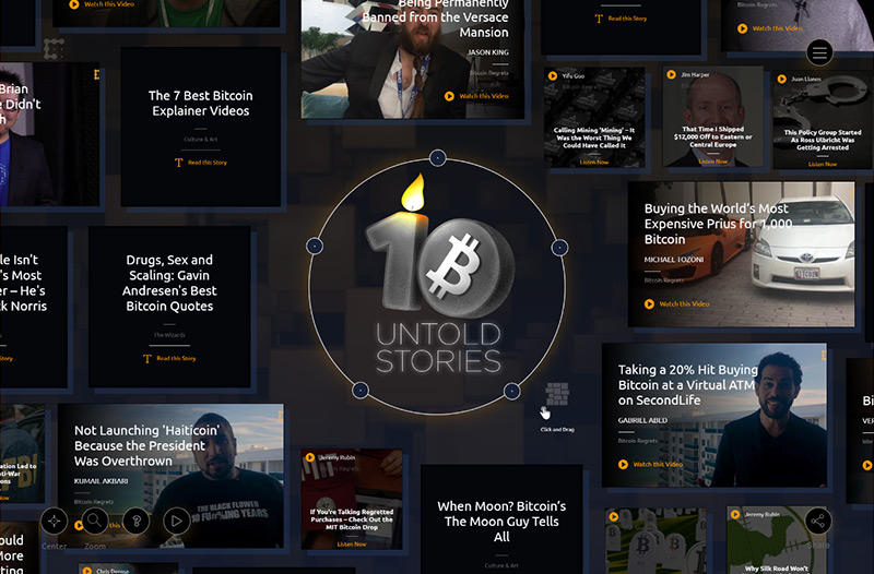 BitcoinAt10 — The Untold Stories