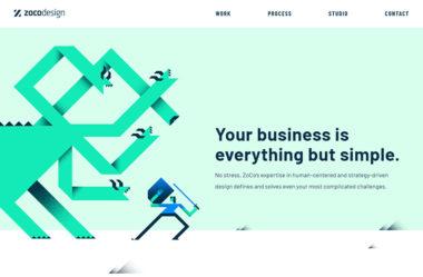 ZoCo DesignのWebデザイン