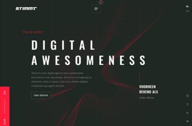 StimmtのWebデザイン