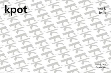 kpotのWebデザイン