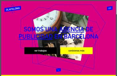 OlapalomaのWebデザイン