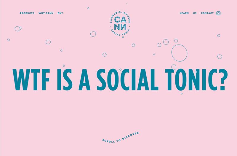 Cann Social Tonics