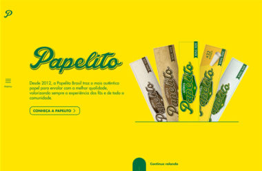 PapelitoのWebデザイン