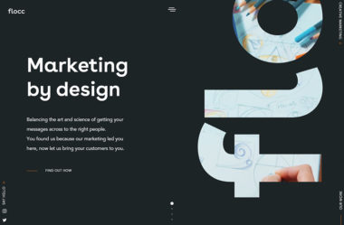 floccのWebデザイン