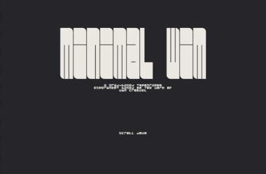 Minimal WimのWebデザイン