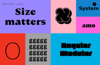 Fontsmith Variable Fonts