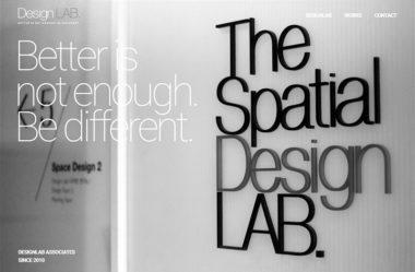 designlabのWebデザイン