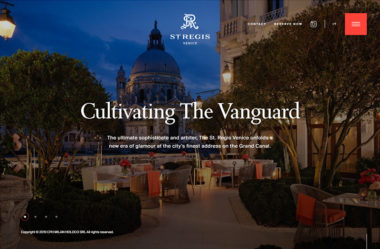 The St. Regis Venice Hotel