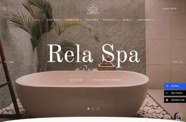 RelaのWebデザイン