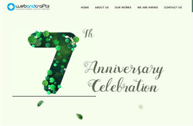 Webandcrafts' 7th Anniversary