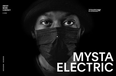 MYSTA ELECTRICのWebデザイン