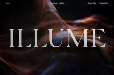 IllumeのWebデザイン