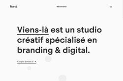 Viens-làのWebデザイン
