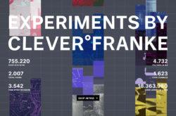CLEVER°FRANKE ExperimentsのWebデザイン