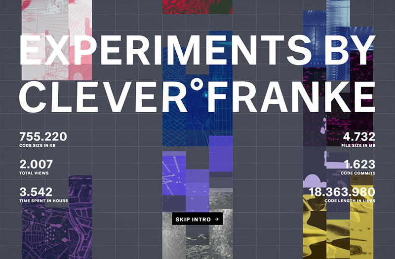 CLEVER°FRANKE Experiments