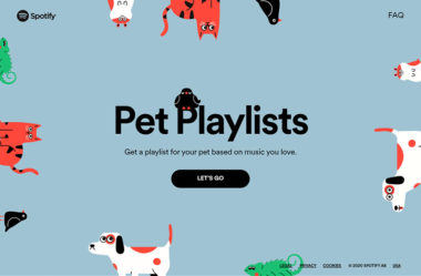 Spotify for Pets