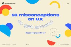 10 Idées reçues sur l'UX Design