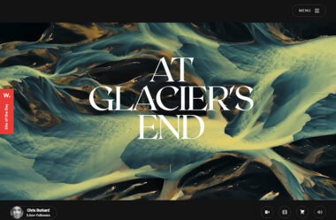 At Glacier's End