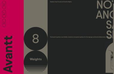 Avantt Typeface